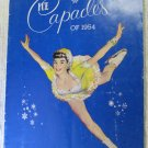 Vintage Ice Capades of 1954 Program Snow White and the Seven Dwarfs