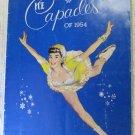 Vintage Ice Capades of 1954 Program Snow White and the Seven Dwarfs