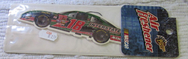 Vintage NASCAR Car Air Freshener No. 18  Interstate In Unopened Package
