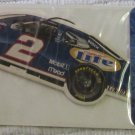 Vintage NASCAR Car Air Freshener No. 2  Miller Lite In Unopened Package