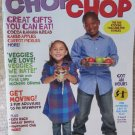 CHOP CHOP Magazine Winter 2010 Issue Family Kids Cooking Recipes Puzzles and More
