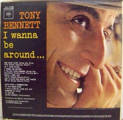 TONY BENNETT I Wanna Be Around Columbia CL2000 Original 1963 LP Vinyl Monaural Mono Record Album