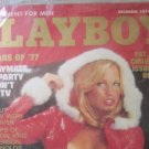 Vintage Playboy Magazine December 1977 Issue