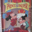 Walt Disney's The Prince and the Pauper Hardcover Book Grolier 1993