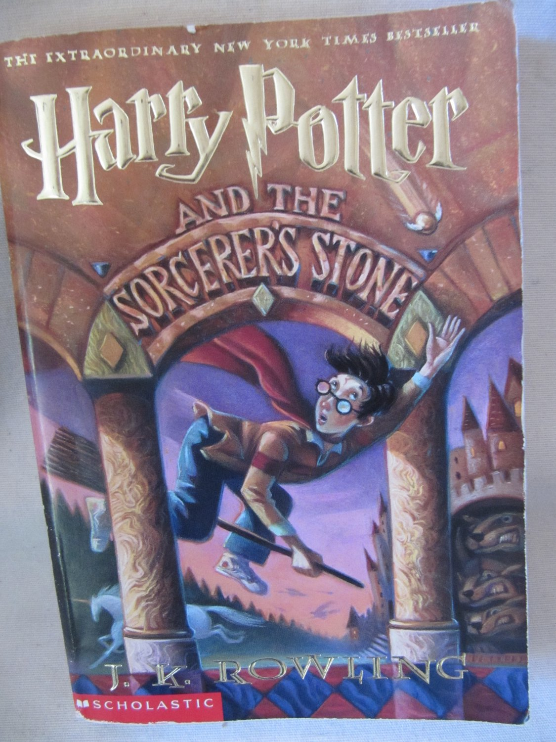 Harry Potter Book Value : Harry potter and the sorcerer s stone by j k rowling