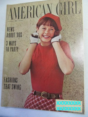 American Girl Magazine September 1966 Vintage 1960s Back Issue News About 'Dos