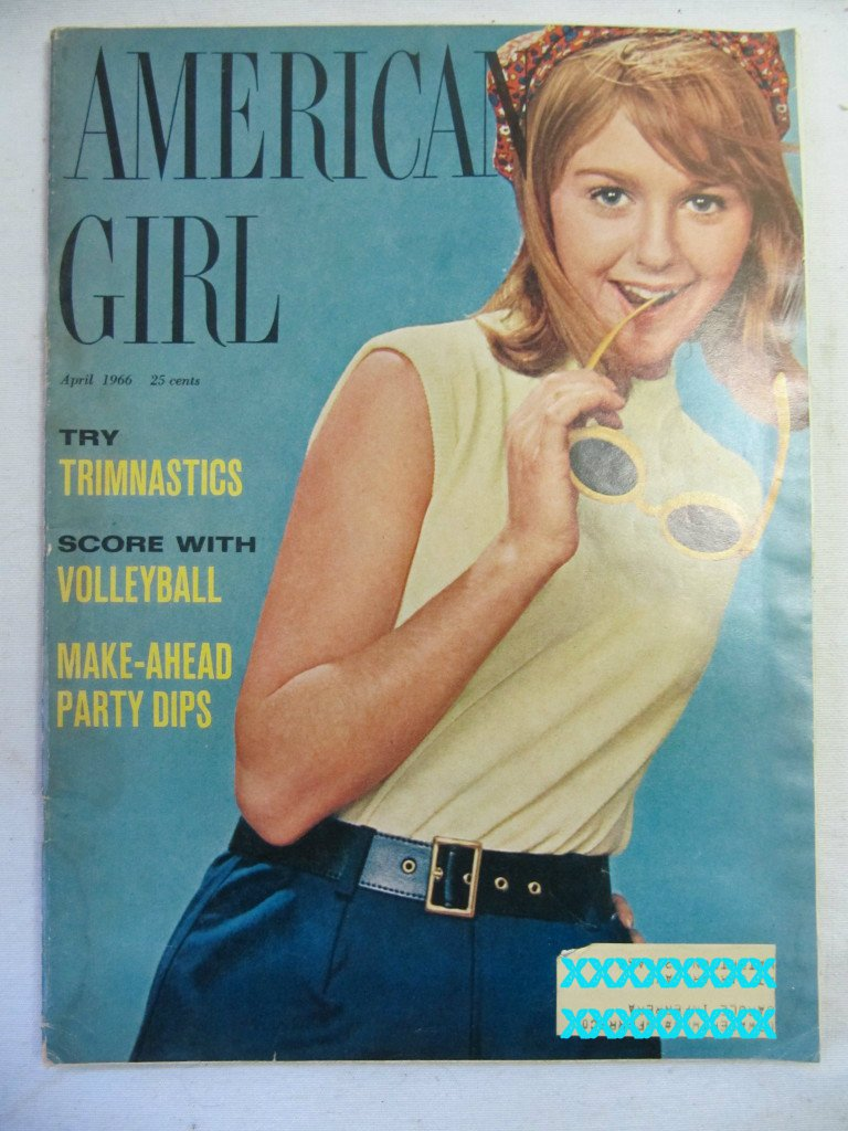 American Girl Magazine April 1966 Vintage 1960s Back Issue Try Trimnastics