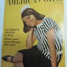 American Girl Magazine November 1966 Vintage 1960s Back Issue Citizen Teen U.S.A.