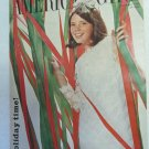 American Girl Magazine December 1966 Vintage 1960s Back Issue Holiday Time!