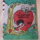 Vintage Hall Brothers Dated 1943 Valentine Greeting Card Booklet 14 Bound Pages Excellent Condition