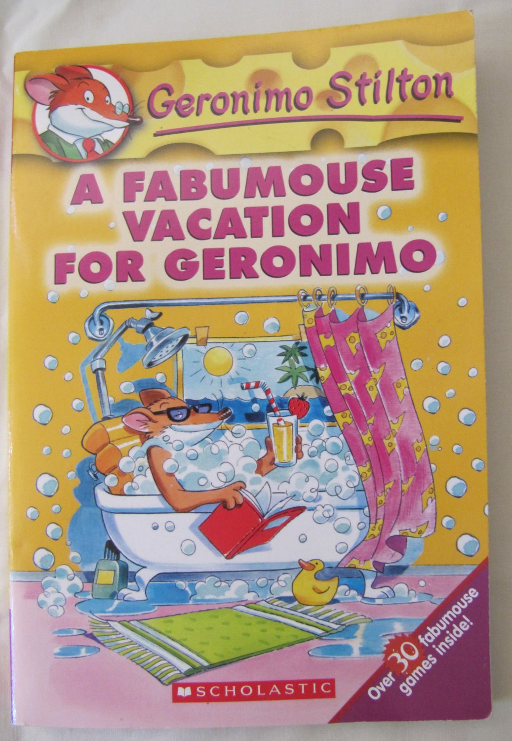 Geronimo Stilton A Fabumouse Vacation for Geronimo Children's Paperback Book Color Illust