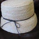 Cute Ladies Straw Sun Hat Cloche August Brand 22 Inch Band