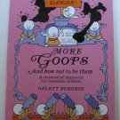 More Goops by Gelett Burgess Children's Book on Manners Softcover