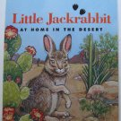 Little Jackrabbit At Home in the Desert by Jim Strickler Children's Paperback Book