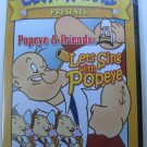 Cartoon Craze Presents: Popeye & Friends let's Sing with Popeye DVD 10 Classic Episodes