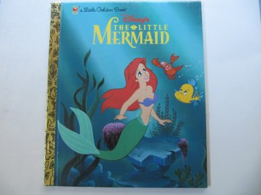 Walt Disney's The Little Mermaid Little Golden Book (c) 1999, 2003