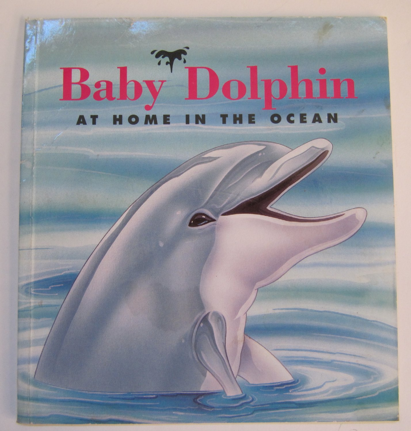 Baby Dolphin At Home in the Ocean by Sarah Toast Children's Paperback Book