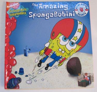 The Amazing SpongeBobini SpongeBob Squarepants Children's Book Hardcover Color Illustrations 2007