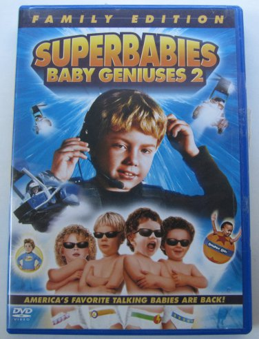 Superbabies - Baby Geniuses 2 (Family Edition) DVD In Case