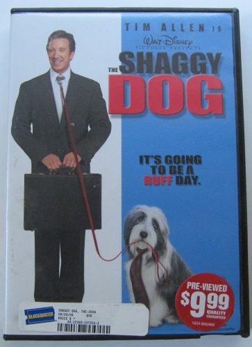 Shaggy Dog Starring Tim Allen DVD In Case