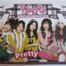 KaRa Pretty Girl 2nd Mini Album Music CD in Original Booklet with Included Photo Album Korean Rock