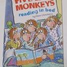 Five Little Monkeys Reading in Bed by Eileen Christelow Paperback Scholastic Children's Book