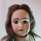 "Antique c 1875 17"" Simon & Halbig Doll Bisque Head 1009 No. 8 DEP with Fabulous Wardrobe"
