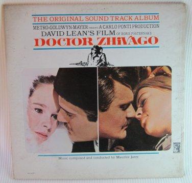 DOCTOR ZHIVAGO Original Sound Track OST LP Record Album 1965 MGM 1E6ST Gatefold w Booklet