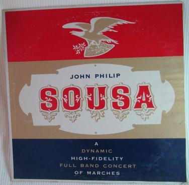 John Philip Sousa Marches Pride of the '48 Band Somerset SF4800 Original 1959 LP Vinyl Record Album