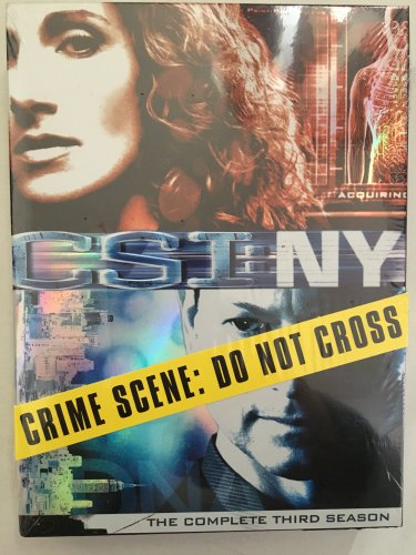 CSI NY The Complete 3rd Season DVD Set New in Shrink Wrapped Case