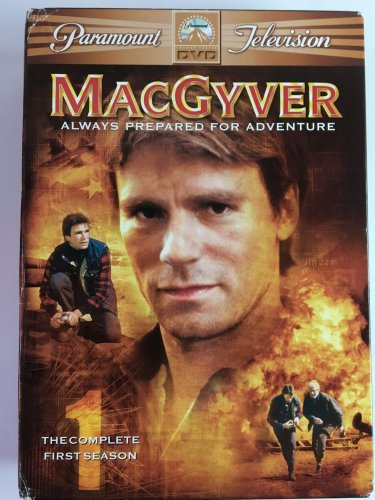 MacGyver Season 1 Six DVD Set in Original Cases and Sleeve
