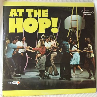 At the Hop 3-Record Set of Classic Oldies Vinyl Record Album Brookville MCADXS528