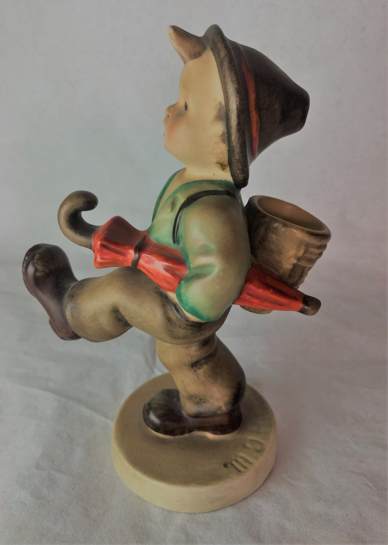 "RARE HUMMEL Figurine Globe Trotter #79 TMK1 U.S. Zone Germany 1946-1948 5.25"""