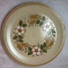 """Hearthside Garden Festival Handpainted Stoneware Dinner Plate Prairie Flowers 10-1/2"""""""