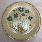 """Hearthside Garden Festival Handpainted Stoneware Dinner Plate Highland Flowers 10-1/2"""""""