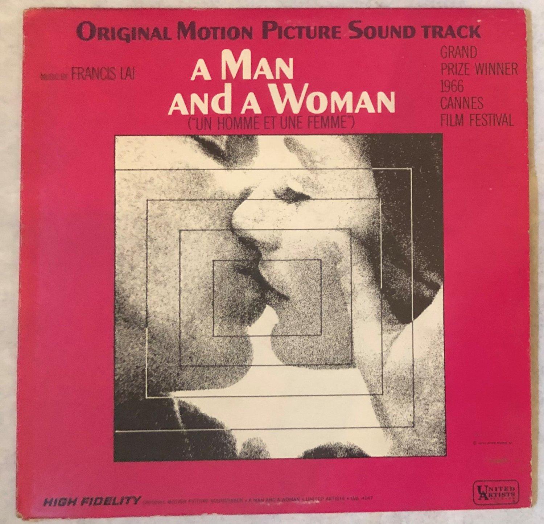 A MAN AND A WOMAN Original Sound Track OST LP Vinyl Record Album HiFi UAL 4147 1966
