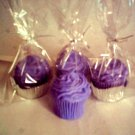 4 WILD BERRY Cupcake Candles