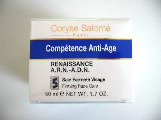 S0189 Coryse Salome Competence  Anti-Age Renaissance A.R.N.-A.D.N.  Firming Face Care, 1.7 Oz(50ml)