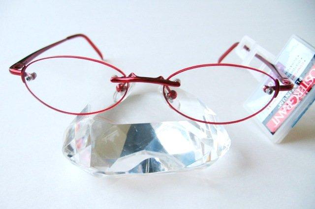 Foster Grant PLATINUM MYSTIC RED READING GLASSES, +1.00