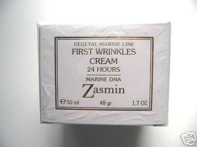 S0213 Zasmin  Vegetal-Marine First Wrinkles Cream - 24 Hours Marine DNA, 1.7 FL. oz (50ml) ITALY