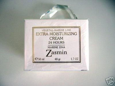S0212 Zasmin Vegetal-Marine Extra Moisturizing Cream - 24 Hours Marine DNA, 1.7 FL. oz (50ml) ITALY