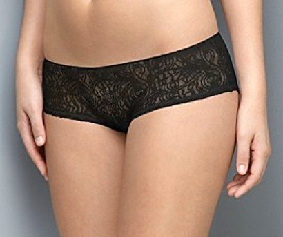 A0390 Calvin Klein Tattoo Sheer Lace Hipster D3095 SIZE LARGE