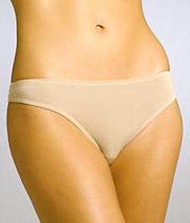 A234T Calvin Klein Stretch Modal Thong D2806, Nude SIZE SMALL