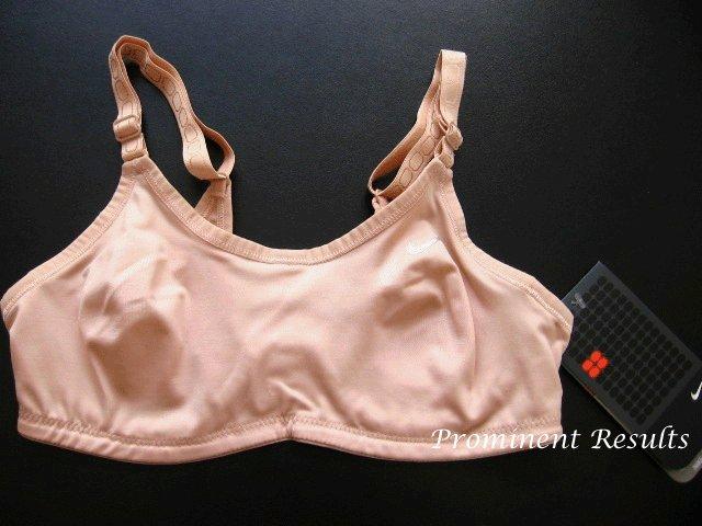 A0091 Nike Women's Balance Bra 138272, Nude SIZE 34C