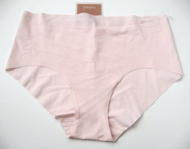 A0280 CALVIN KLEIN NAKED LOW-RISE HIPSTER F2637 PINK SIZE SMALL