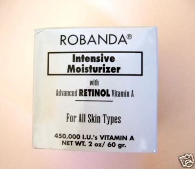 S026 Robanda Intensive Moisturizer w/ Retinol Vitamin A Net wt 2 oz (60 gram)