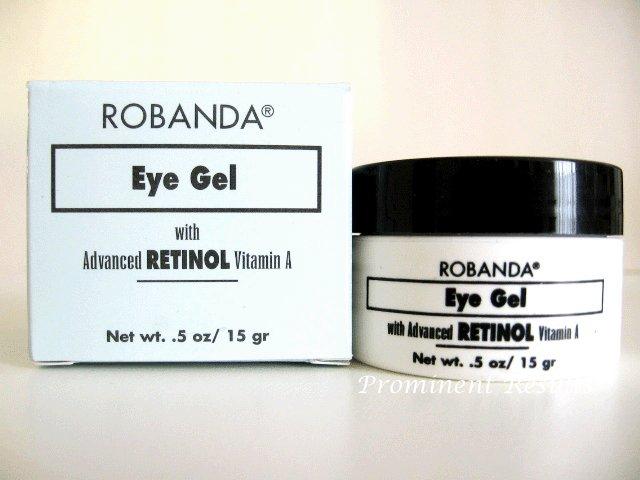S0025 Robanda Advanced Retinal Vitamin A Eye Gel 0.5 OZ