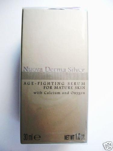S0081 Nuova Derma Silver Age-Fighting Serum 1.0 oz NEW