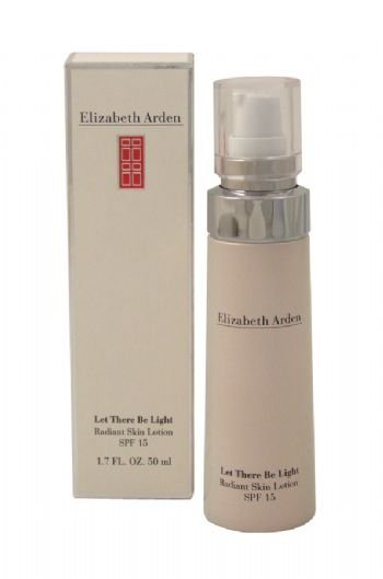 S0165 ELIZABETH ARDEN LET THERE BE LIGHT LOTION SPF15 1.7 Oz (50 ml)