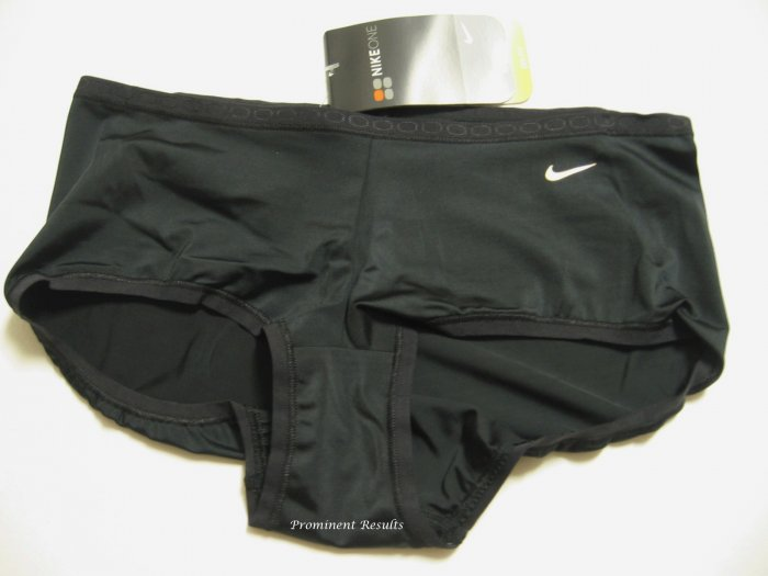 A0094 Nike Fit Dry Training Boyshort 138277 BLACK SIZE MEDIUM